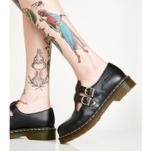 Dr. Martens 8065 Black Leather Mary Janes